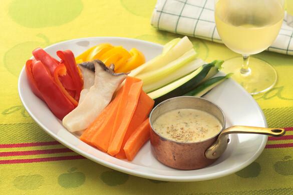 野菜スティックサラダ バーニャカウダソース