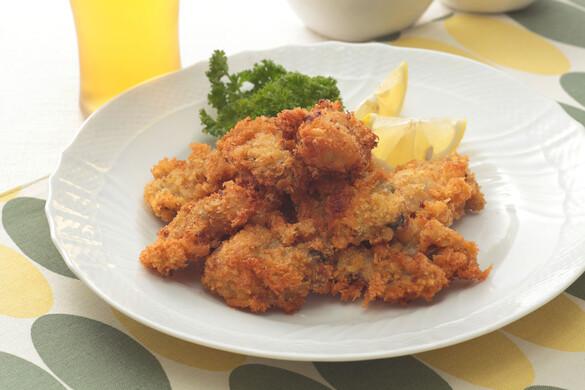 ふっくら牡蠣フライ