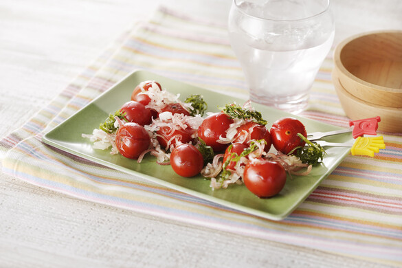トマトのポン酢焼き