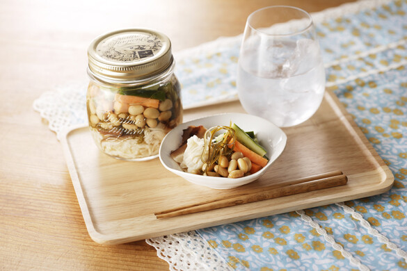 お好み野菜の簡単浅漬け <びん詰め冷蔵保存食>