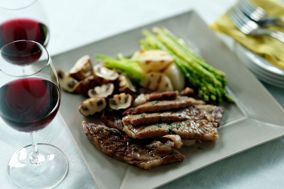 牛肉のハーブステーキ