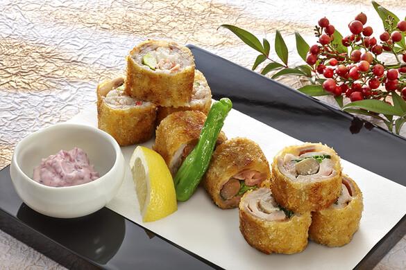 豚肉の味噌漬 ロール焼