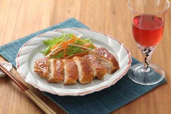 鶏の柚子コショウ風味照り焼き