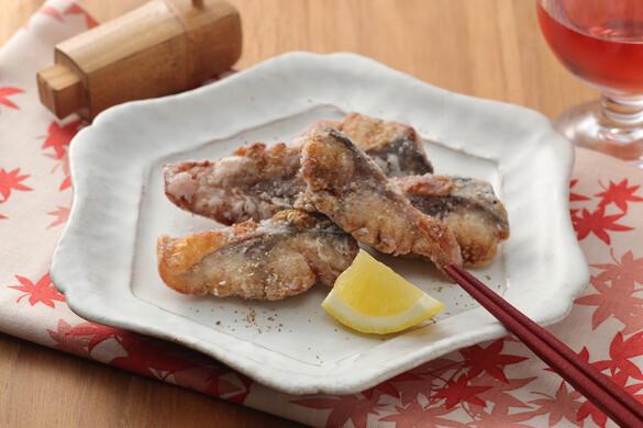鯖の山椒揚げ