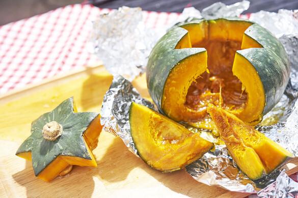 丸ごとかぼちゃスイーツ