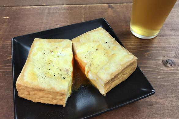 厚揚げ卵チーズ〜簡単3stepおつまみ〜