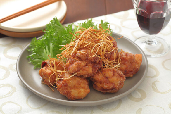 鶏肉のニンニク味噌から揚げ