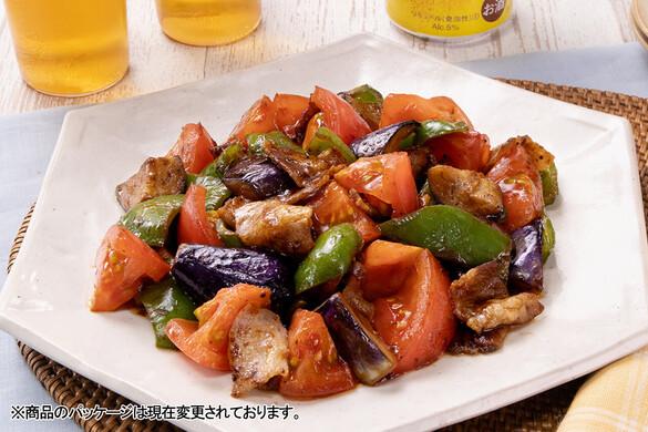 夏野菜たっぷり☆カラフル回鍋肉