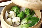 蒸し野菜のオイスターソース