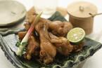 鶏スペアリブのニンニクしょうゆ煮