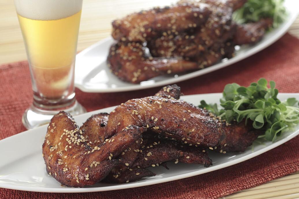 鶏手羽のから揚げ ゴマ風味