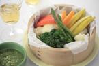 温野菜サラダ パセリのソース