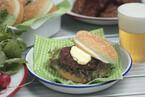 韓国風ハンバーガー