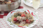 トマトとあさりと豚肉の蒸し煮