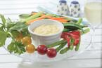 スティック野菜とカレーディップ