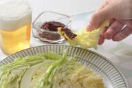 ニンニク味噌&春キャベツ