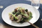 かますの干物と小松菜の炒めもの