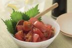 青ジソドレッシングのトマトマリネ