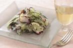 セロリとタコのハーブサラダ