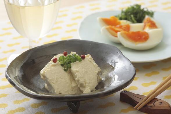 塩麹卵&塩麹豆腐