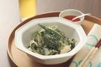 ネバネバ野菜の中華マヨ和え