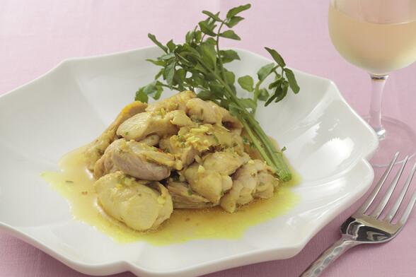 チキンのレモングラス煮