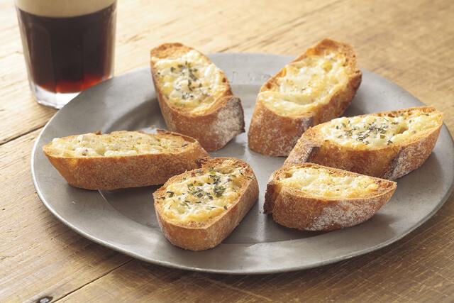 ガーリックチーズトースト