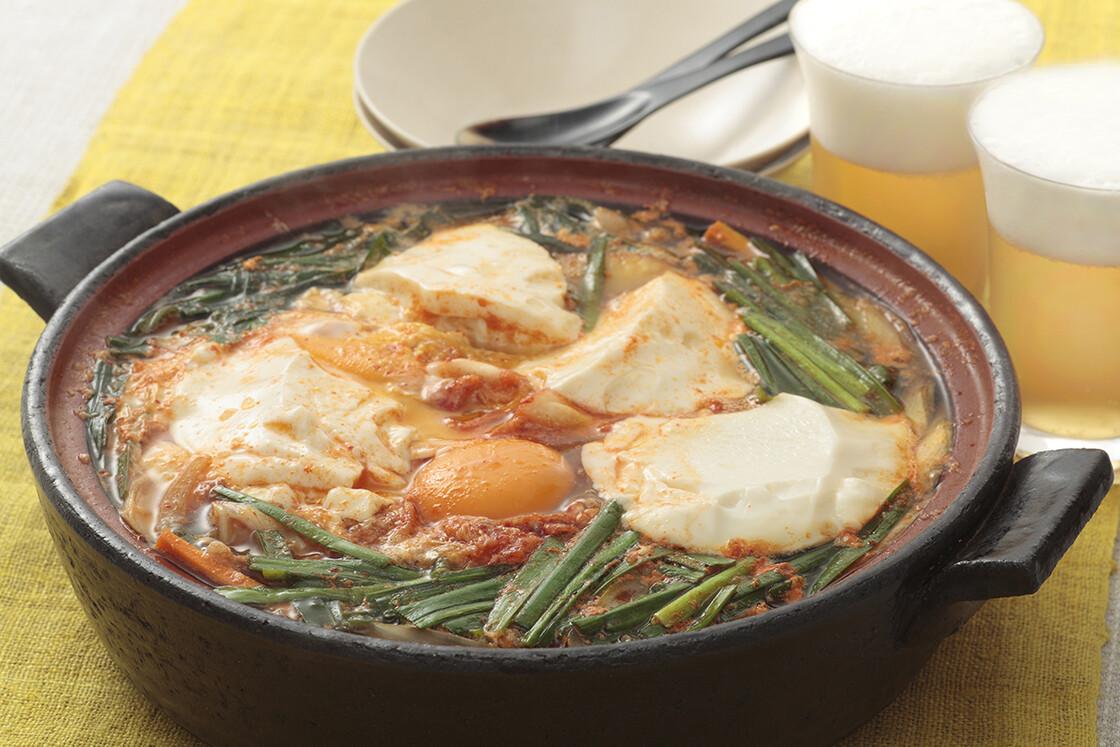 豆腐キムチ鍋