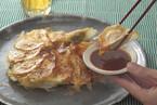柚子風味の餃子 味噌ポン酢ダレ