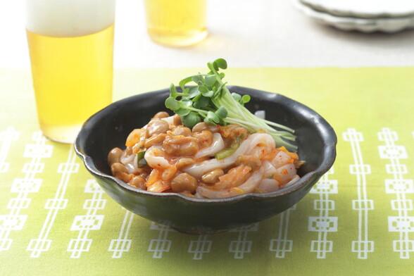 キムチイカ納豆