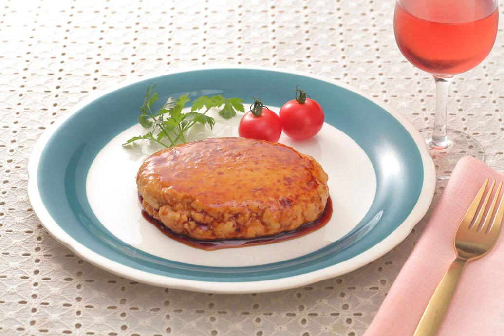 豆腐テリヤキハンバーグ