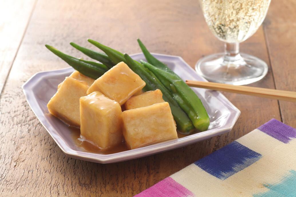 高野豆腐のうま煮