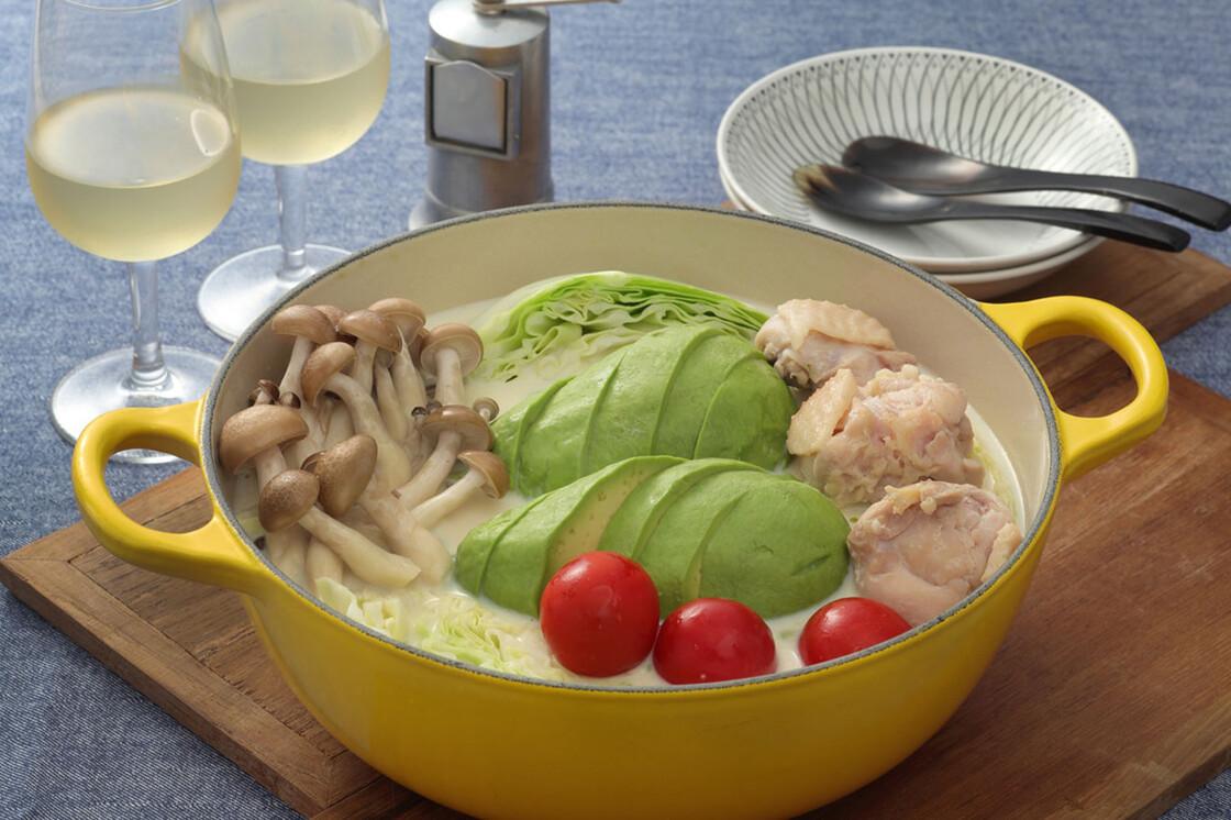 森のバター鍋(アボカド鍋)