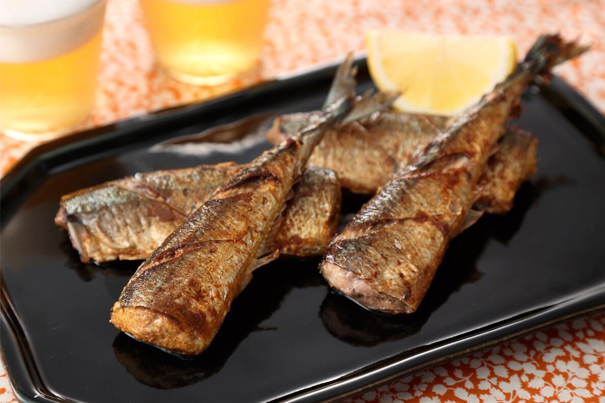 秋刀魚のスパイス焼き