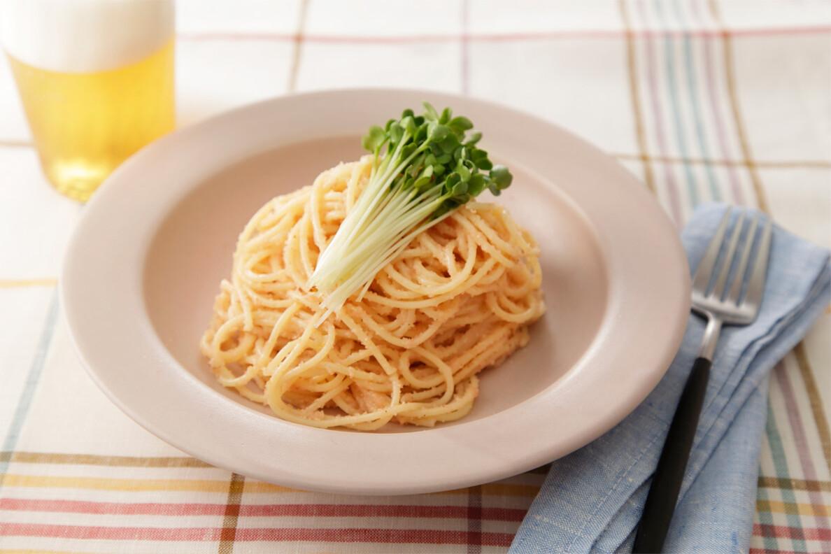 タラコスパゲッティ柚子コショウ風味